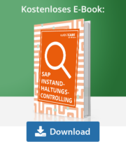 Unser E-Book zu SAP Instandhaltungscontrolling