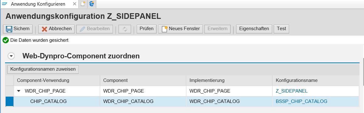Sidepanel Anwendungskonfiguration (2)