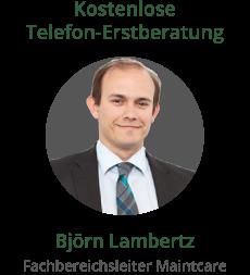 Fachbereichsleiter von Maintcare Björn Lambertz