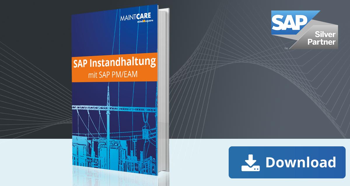 Predictive Maintenance ist ein zukunftsträchtiger Bestandteil der Instandhaltung. In diesem E-Book zu SAP PM/EAM geben wir Ihnen einen Einblick