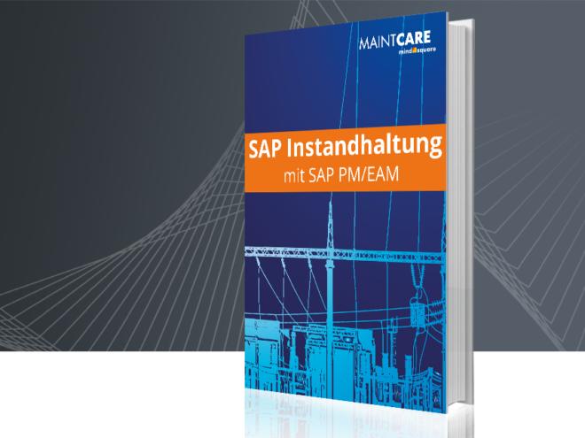 Unser E-Book zum Thema SAP Instandhaltung mit PM/EAM