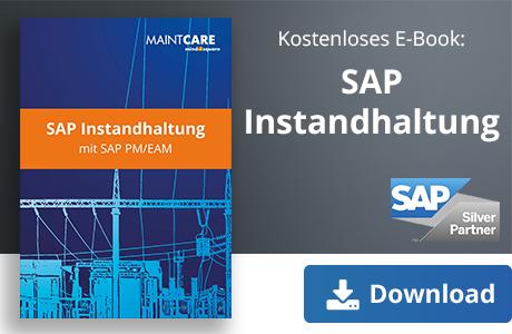 Unser E-Book zum Thema: SAP Instandhaltung mit SAP PM/EAM