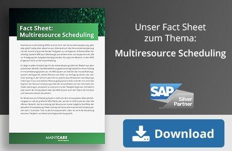 Unser Fact Sheet zum Thema: Multiresource Scheduling