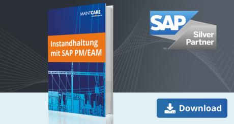 Unser E-Book zum Thema Instandhaltung mit SAP PM/EAM