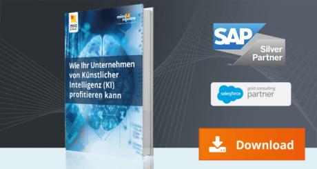 E-Book zum Thema, wie Ihr Unternehmen von künstlicher Intelligenz profitieren kann.
