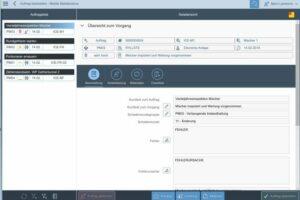 SAP PM App Auftragsbearbeitung