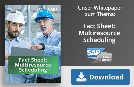 Unser Whitepaper zum Thema: Fact Sheet: Multiresource Scheduling