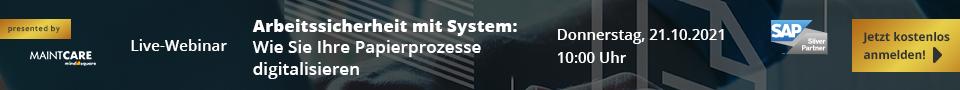 Live-Webinar Arbeitssicherheit mit System 20211021